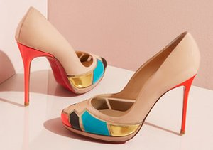 A Kick of Color: Designer Shoes