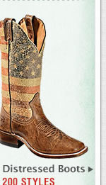 Womens Distressed Boots