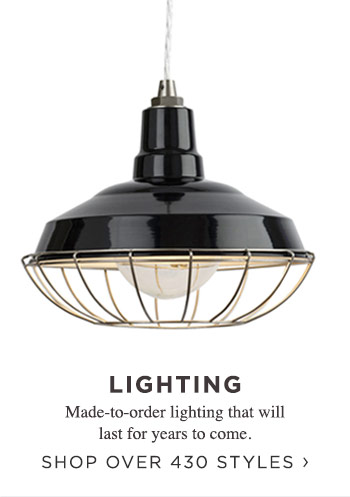 Lighting. Shop over 430 styles