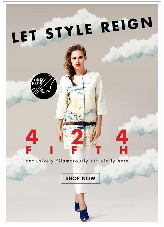 Let Style Reign. Shop Now.