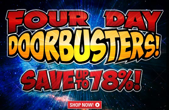 4 Day Doorbusters Sale from The Guide!
