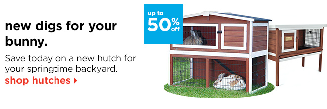 new digs for your bunny.