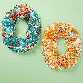 Loop Once or Twice: Infinity Scarves