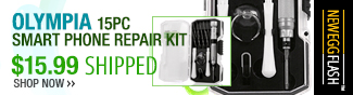 olympia 15pc smart phone repair kit