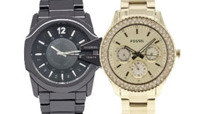 Watches by Armani, DKNY and more