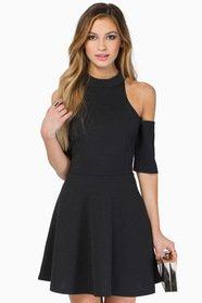 Vindy Cold Shoulder Dress $39