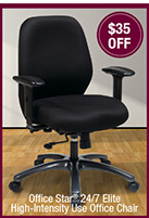 Office Star® 24/7 Elite High-Intensity Use Office Chair
