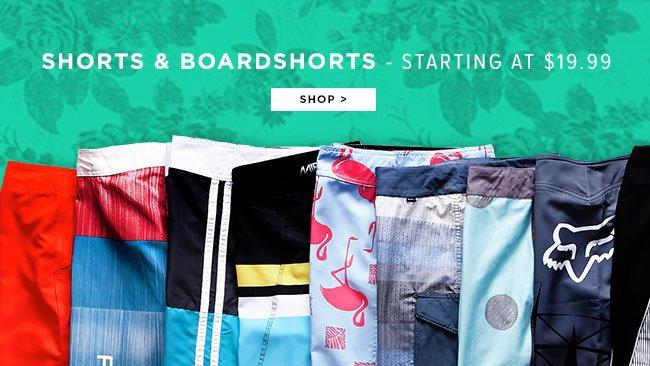 Shorts and Boardshorts