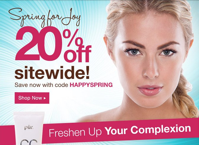 Spring for Joy 20% Off Sitewide! Save now with code HAPPYSPRING.
