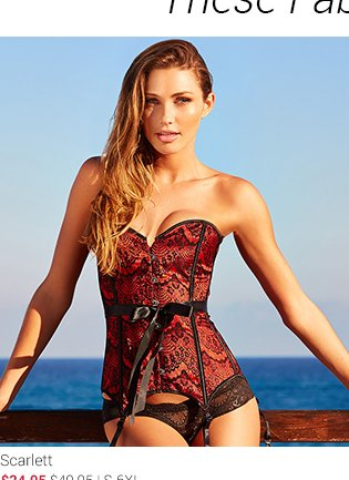 Scarlett corset and panty