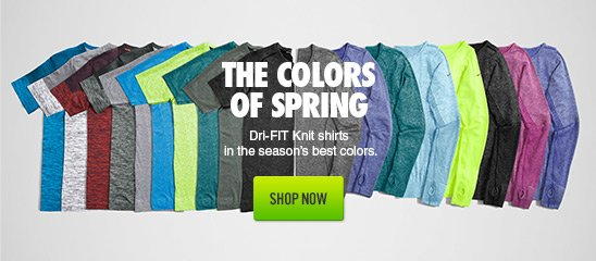 THE COLORS OF SPRING | SHOP NOW