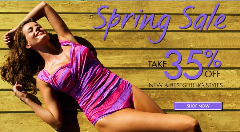 Spring SALE - Take 35% OFF New and Best-Sellling Styles