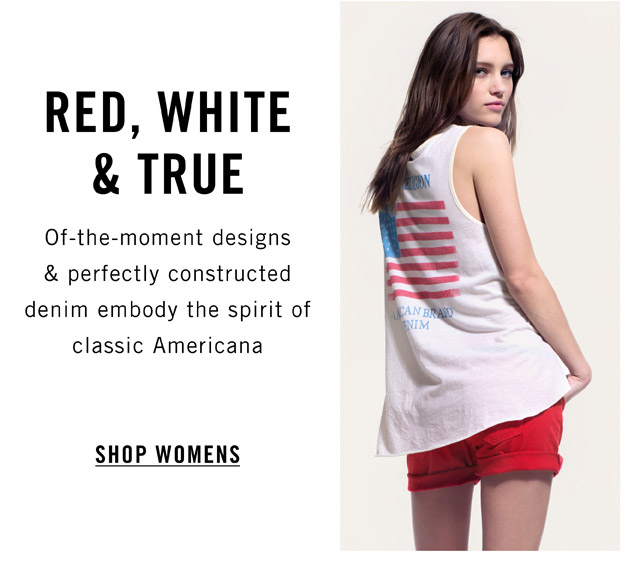 Red, White & True - Shop Womens