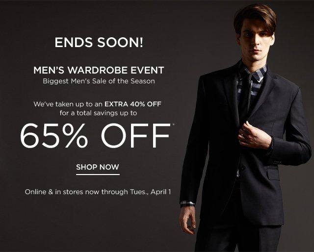 Shop the Men's Wardrobe Event