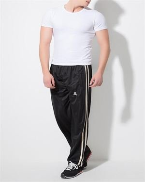 Claswin 100% Cotton Two-Tone Sweatpants Made In Europe
