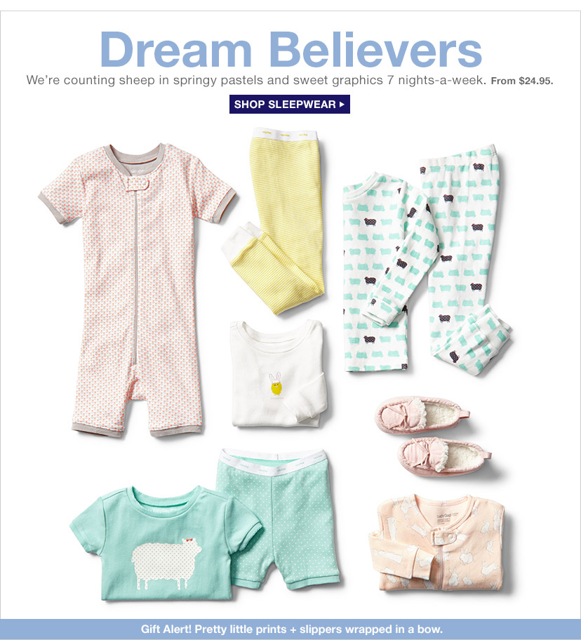 Dream Believers | SHOP SLEEPWEAR