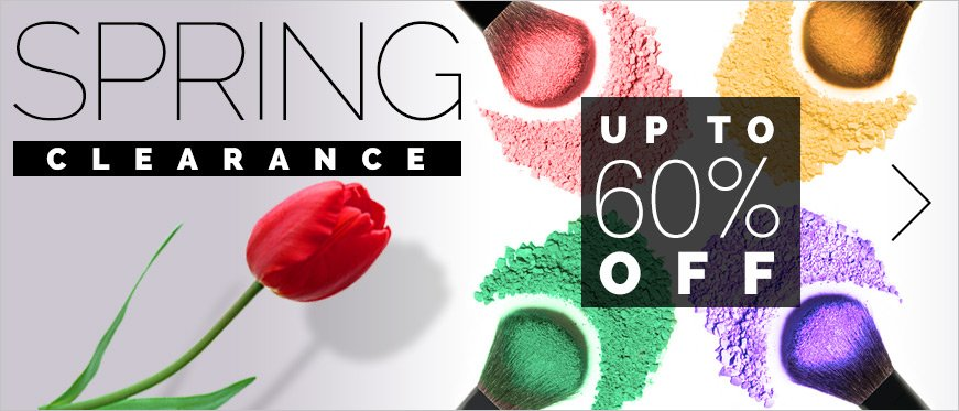 Spring Clearance - Up to 60% Off!