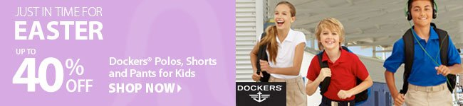 Easter Polos, Shorts, and Pants up to 40% Off