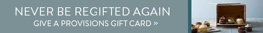 Provisions Gift Cards