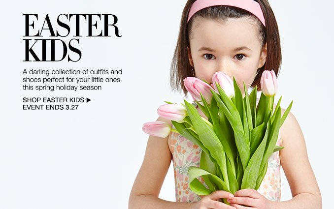 Shop Easter Bunnies- Girls Easter Shop