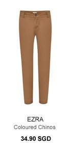 Coloured Chinos 34.90 SGD