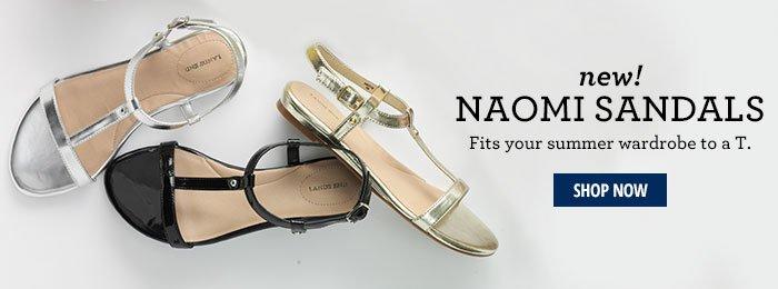 New! Naomi Sandal