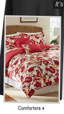 It's the perfect time to buy new spring arrivals: Shop Comforters.