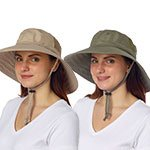 Sun Protection Zone Adult Unisex Booney Hat