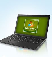 Laptop and Desktop PCs Featuring Microsoft Windows 7