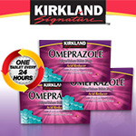 Kirkland Signature Omeprazole 20 mg. Acid Reducer