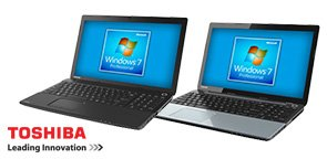 Toshiba Laptops Featuring Windows 7 Professional