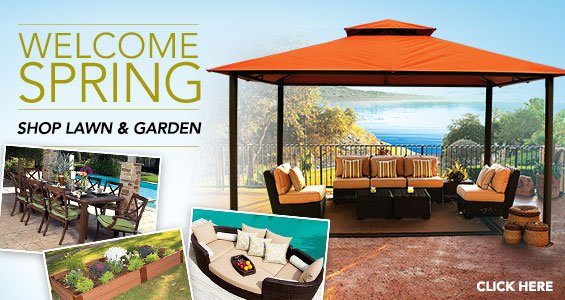 Welcome Spring Shop Lawn & Garden