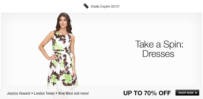 Take a Spin: Dresses