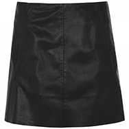 RAG AND BONE - Florencia leather skirt