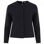 ADAM LIPPES - Zip embellished stretch cotton jacket