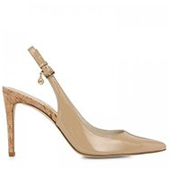 MICHAEL KORS - Elisa slingback patent leather pumps