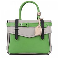 REED KRAKOFF - Boxer tri-tone leather tote