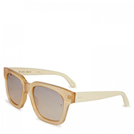 LINDA FARROW LUXE - Wayfarer style acetate sunglasses