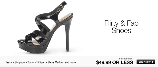 Flirty and Fab Shoes