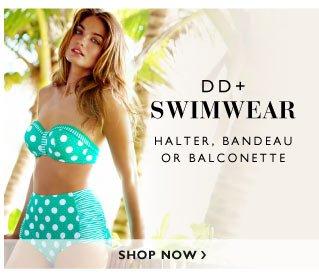 Halter, Bandeau or Balconette - Shop DD+ Bikinis