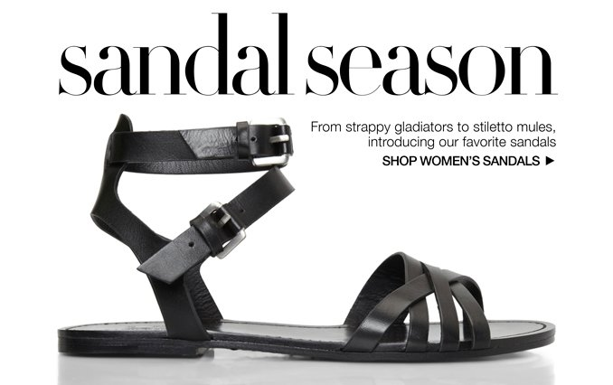 Shop Sandals - Ladies