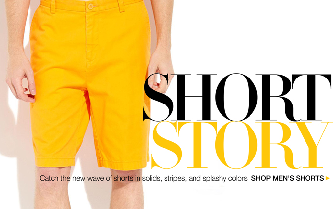 Shop Shorts - Men