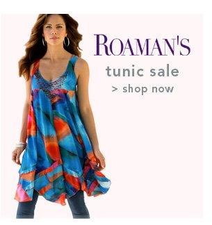 Shop Roaman's Tunic Sale