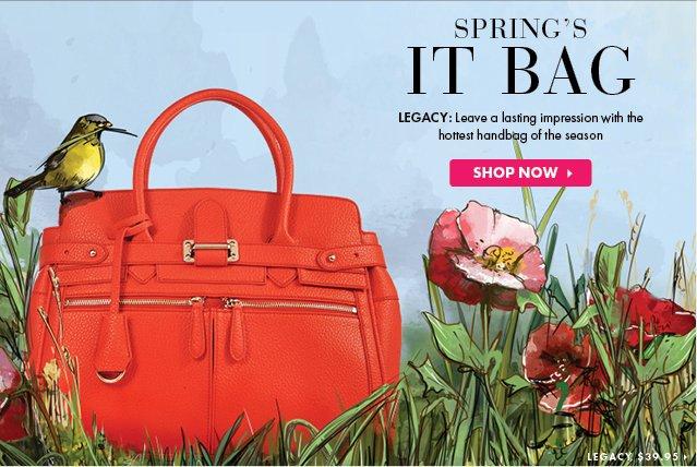 Springs IT Bag - LEGACY - Shop Now