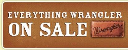 Everything Wrangler on Sale