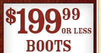 199 99 Boots