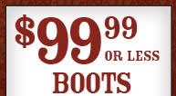 99 99 Boots