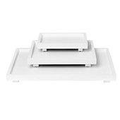 Trays Medium White