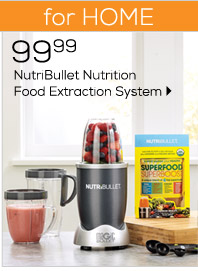 FOR HOME 99.99 NutriBullet Nutrition Food  Extraction System