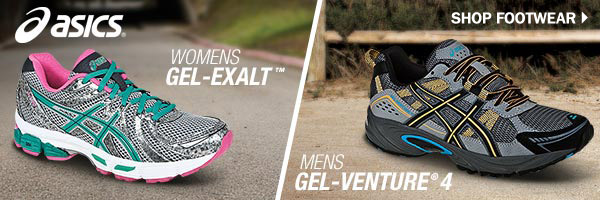 Asics womens GEL-EXALT Mens GEL-VENTURE 4 Shop Footwear